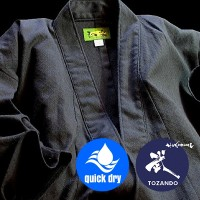 TOZANDO Seersucker Cotton Iaido Gi Jacket Regular Sleeve